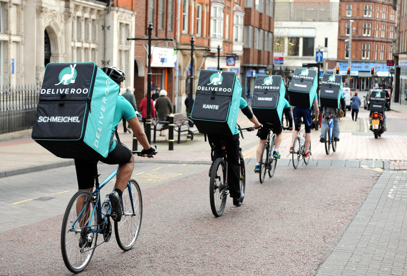 Deliveroo Riders Delivery