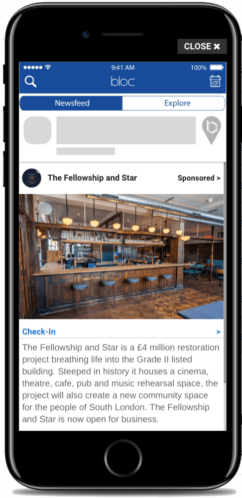 The Fellowship and Star Bloc Ad