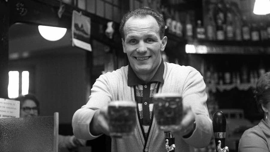 Henry Cooper at The Fellowship and Star
