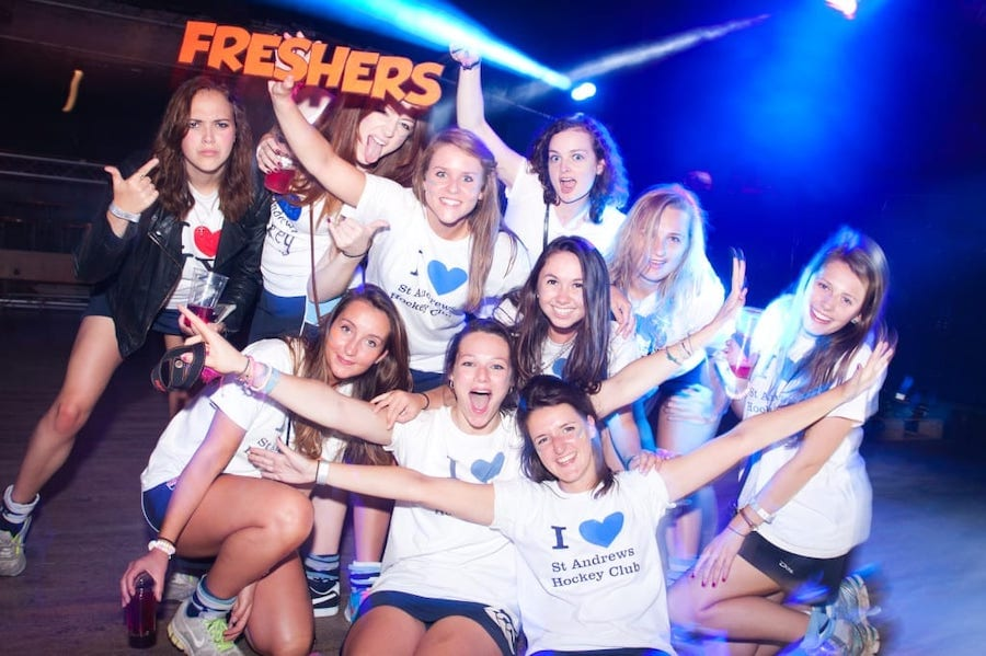 Freshers Partying