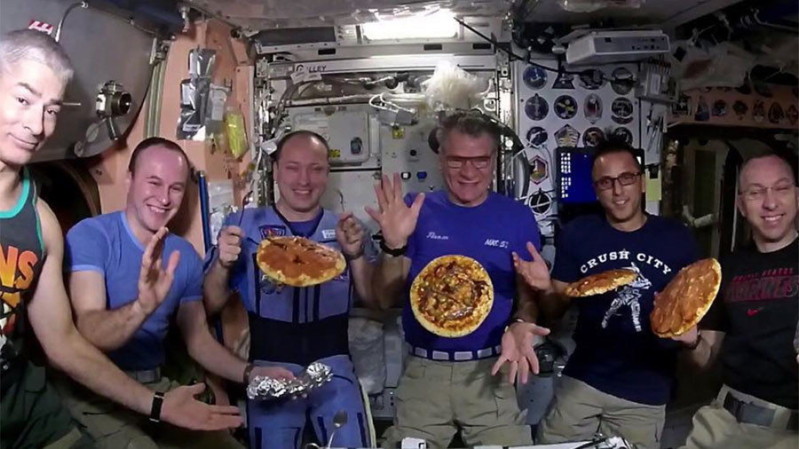 Pizza Hut Space Station