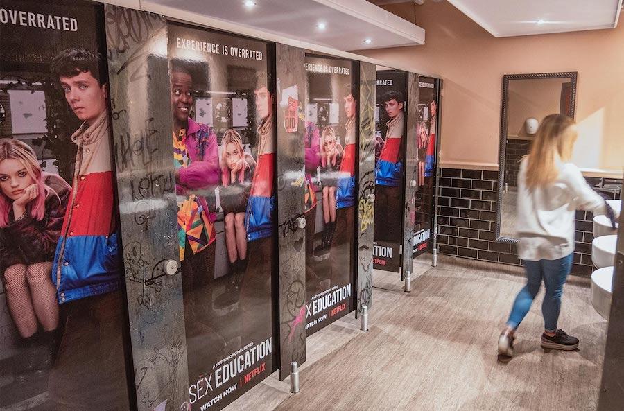 Venue display advertising