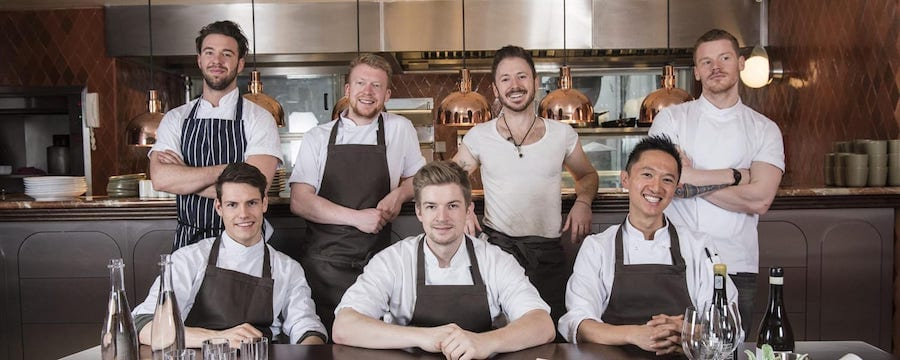 Restaurant Staff Show Off