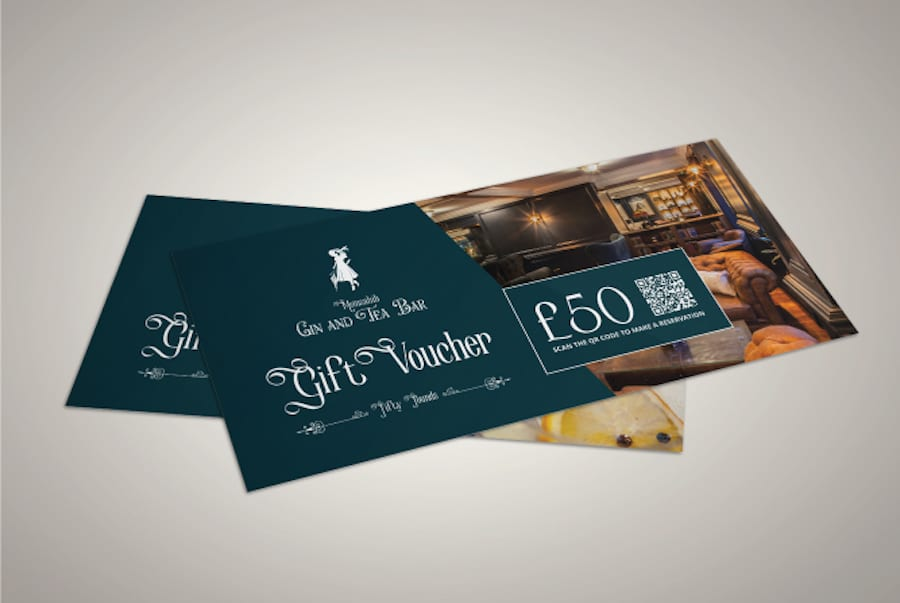Bar Marketing Gift Card