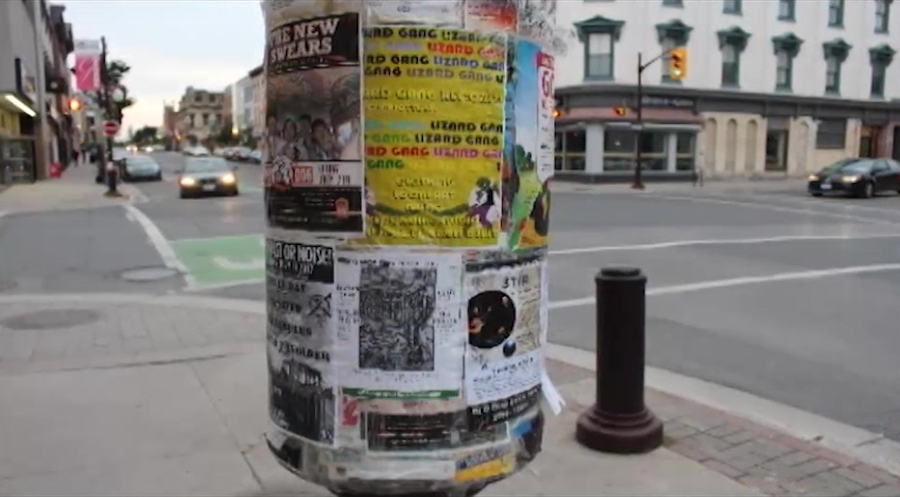 Poster marketing