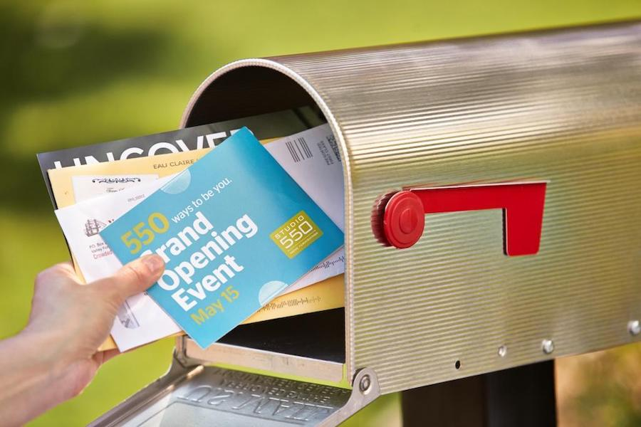 Direct mail bar marketing
