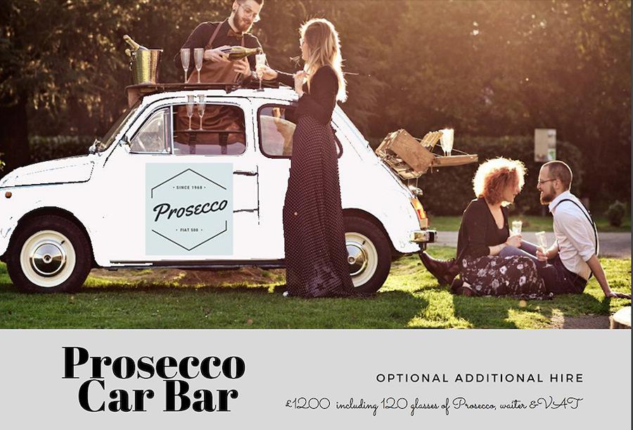 Bar marketing car wrap