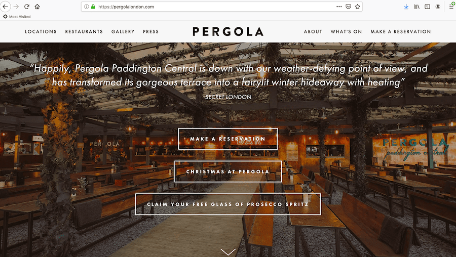 Pergola On The Roof Website