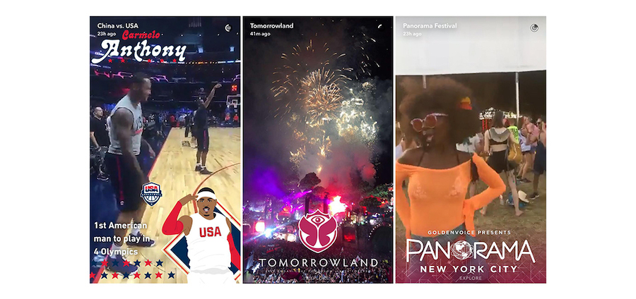 Snapchat Geofilters Examples