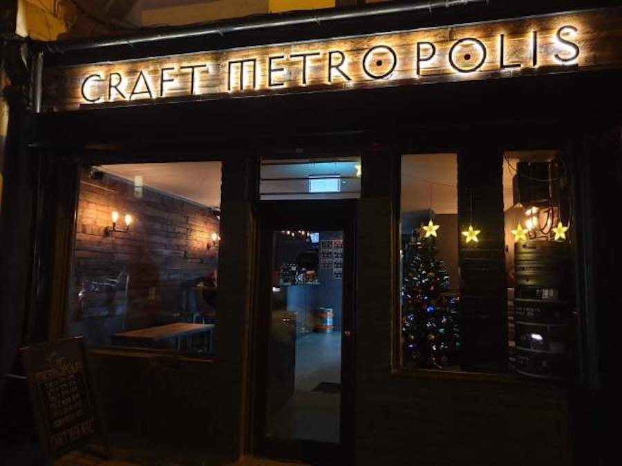 Craft Metropolis Beer Taproom & Bottleshop