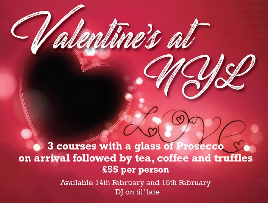 Valentine's Day drink offers