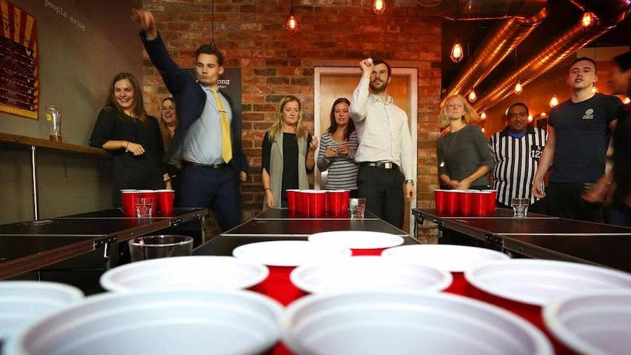 Beer drinking games & drink promotions