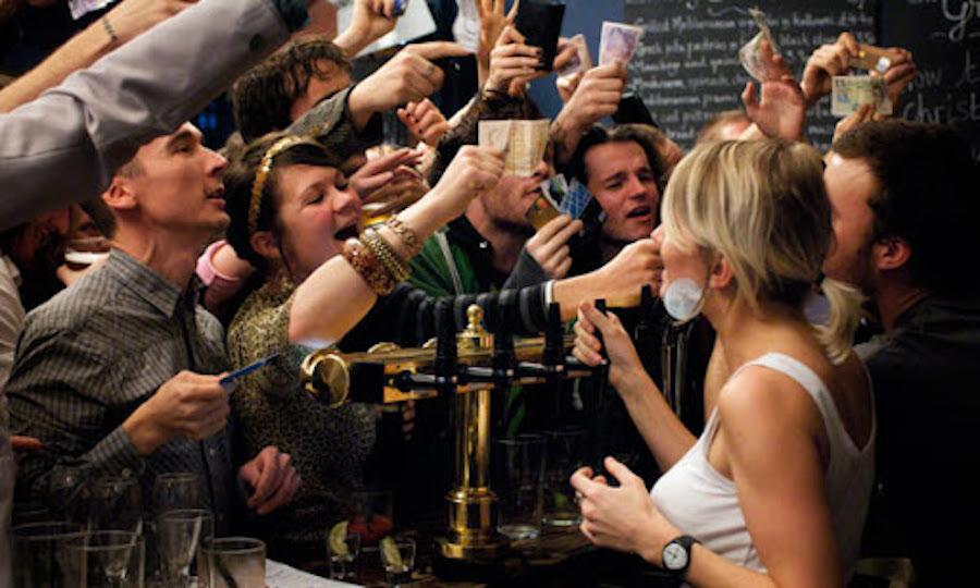 Bar marketing strategies for a busy bar