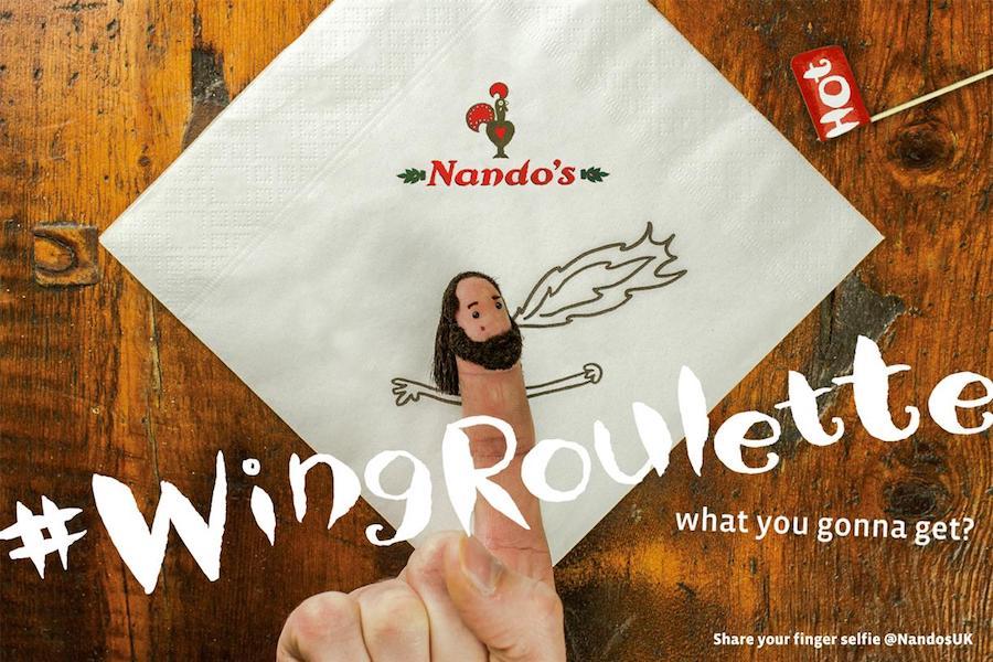 Nandos Restaurant Advertisement