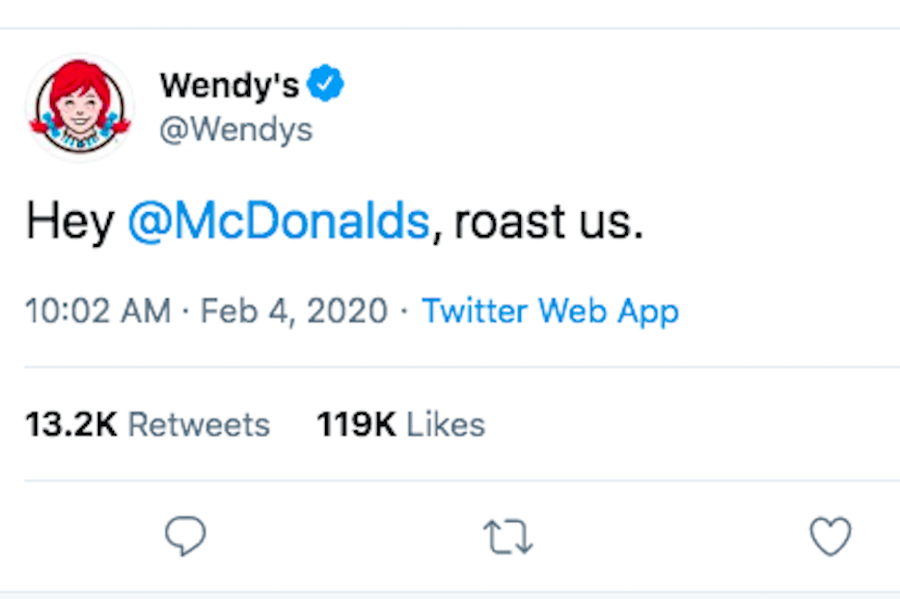 Wendy Restaurant advertisements
