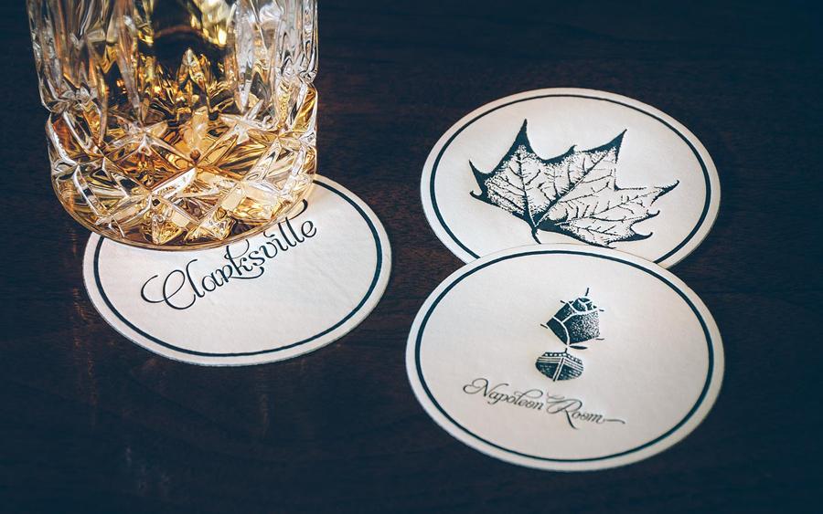 Fine dining branding