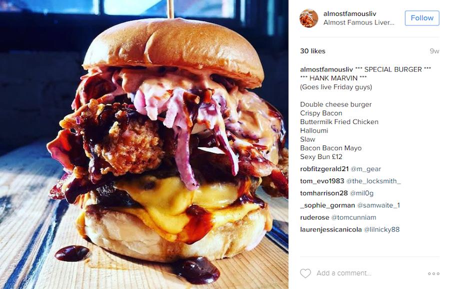 Fast food social media marketing