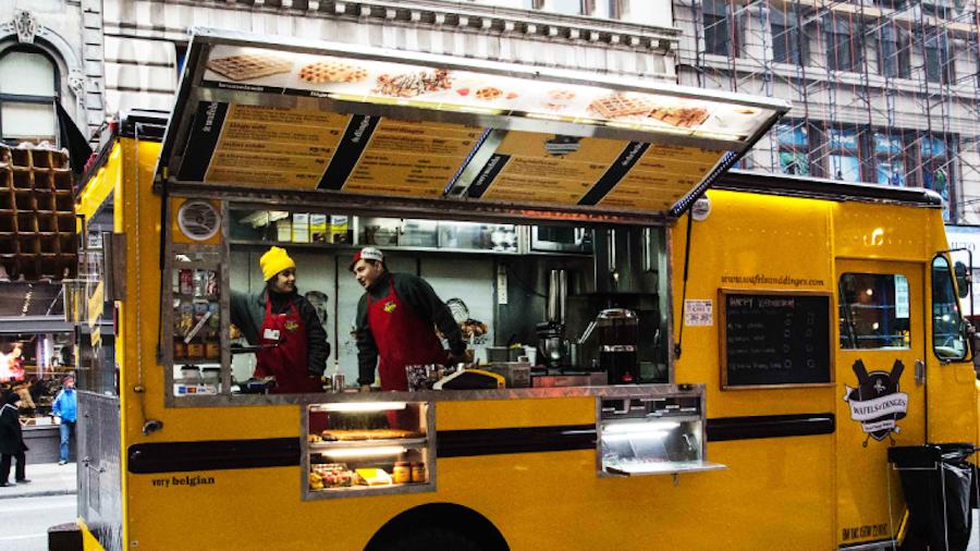 Food truck or cart restaurant marketing strategy plan