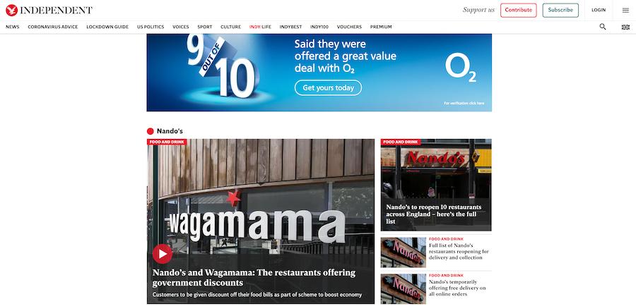 Press strategy marketing for family restaurants