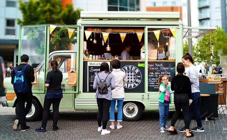 Queues for food truck marketing