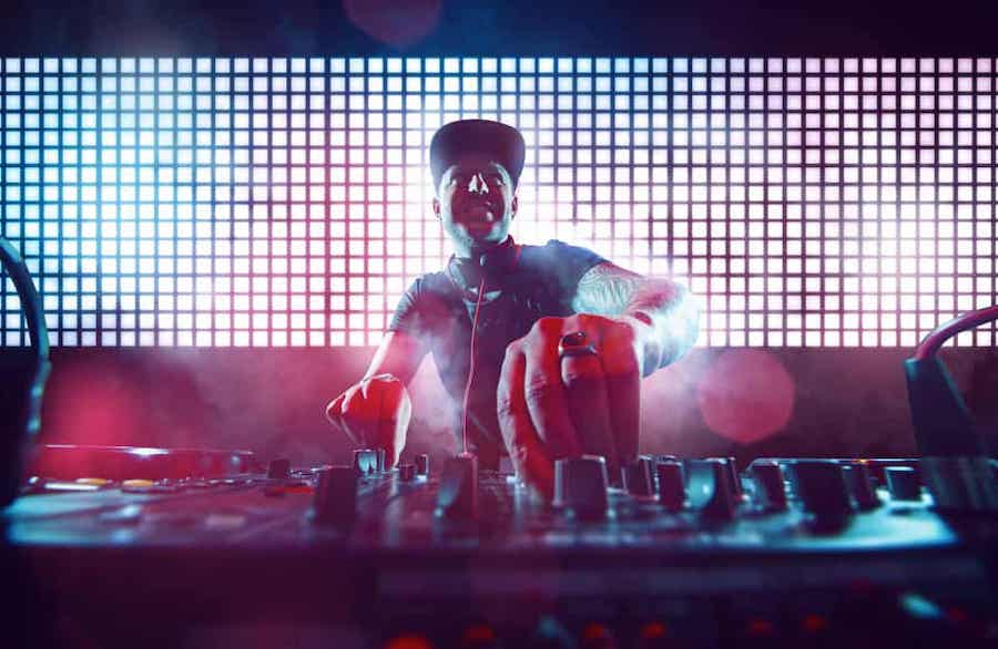 DJ and music for marketing