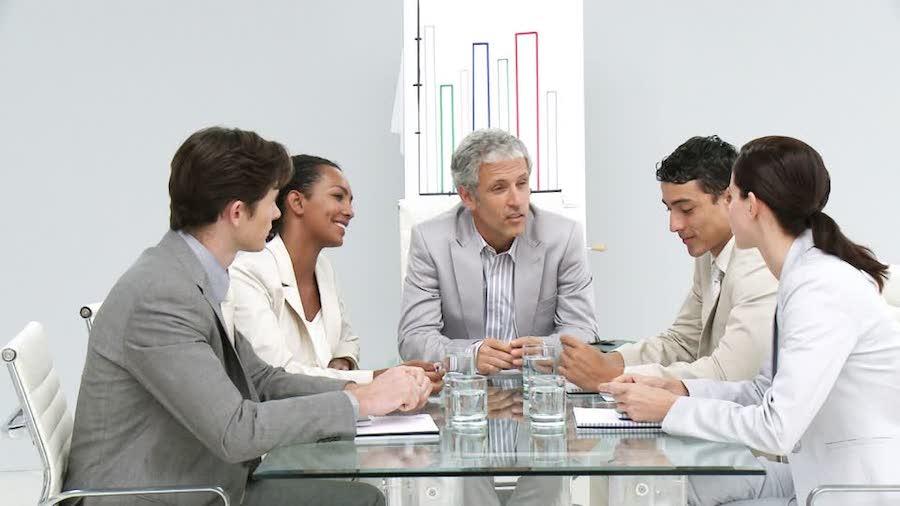 Bar advertisement strategy meeting
