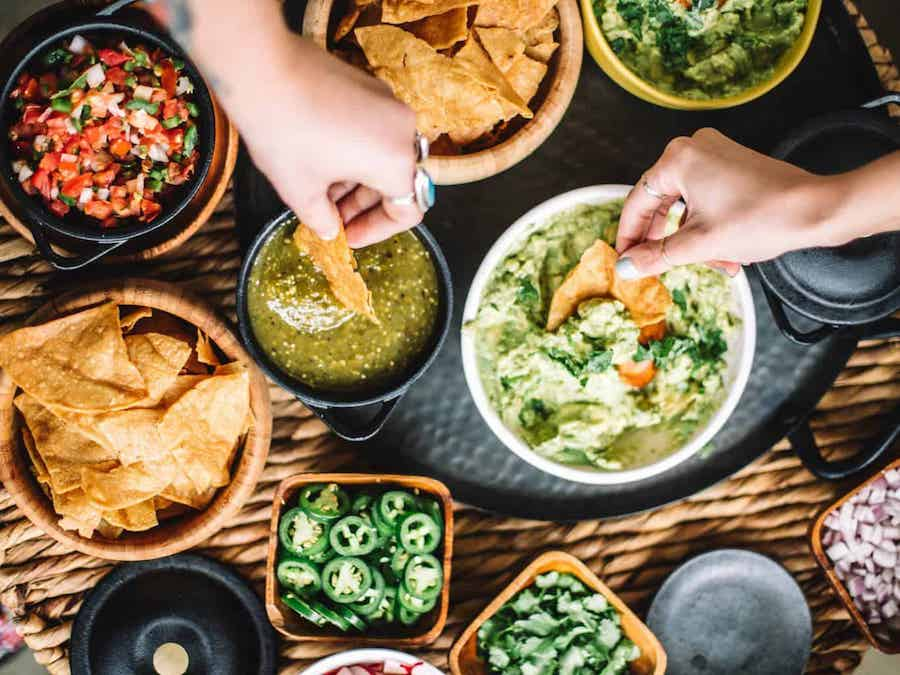 Mexican themed foods
