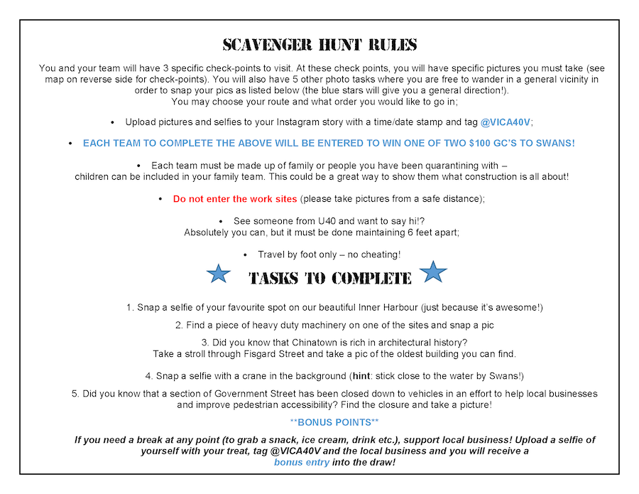 How to promote a pub scavenger hunt