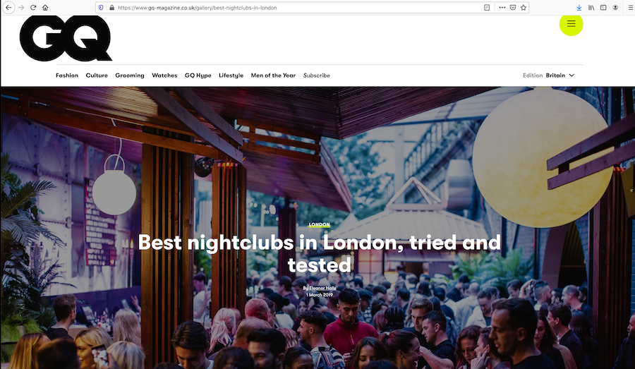 Content marketing for nightclubs