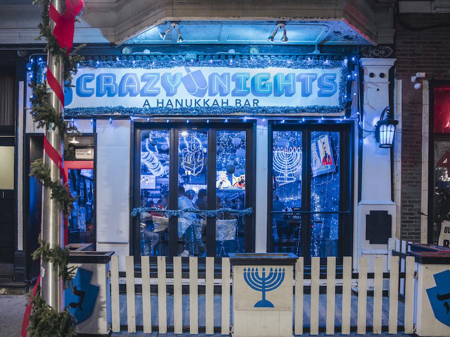A Hanukkah bar