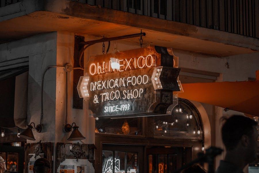 Bold restaurant advertising