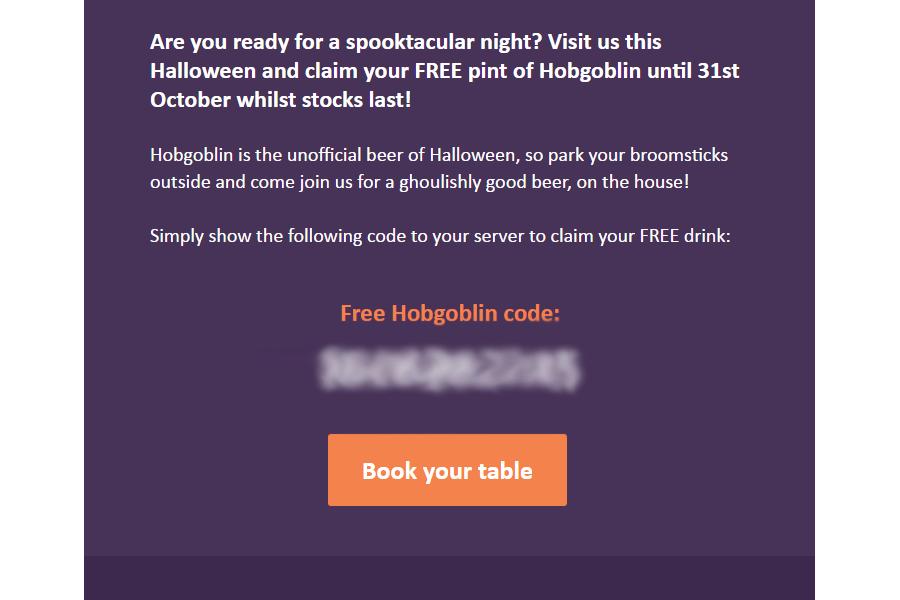 Email pub marketing strategy