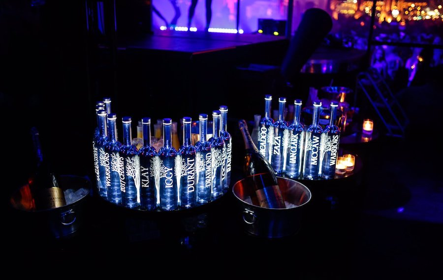 vodka in nightclubs