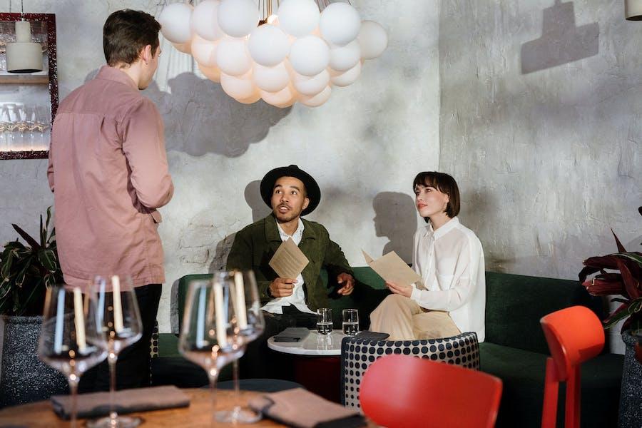 Online marketing for restaurant