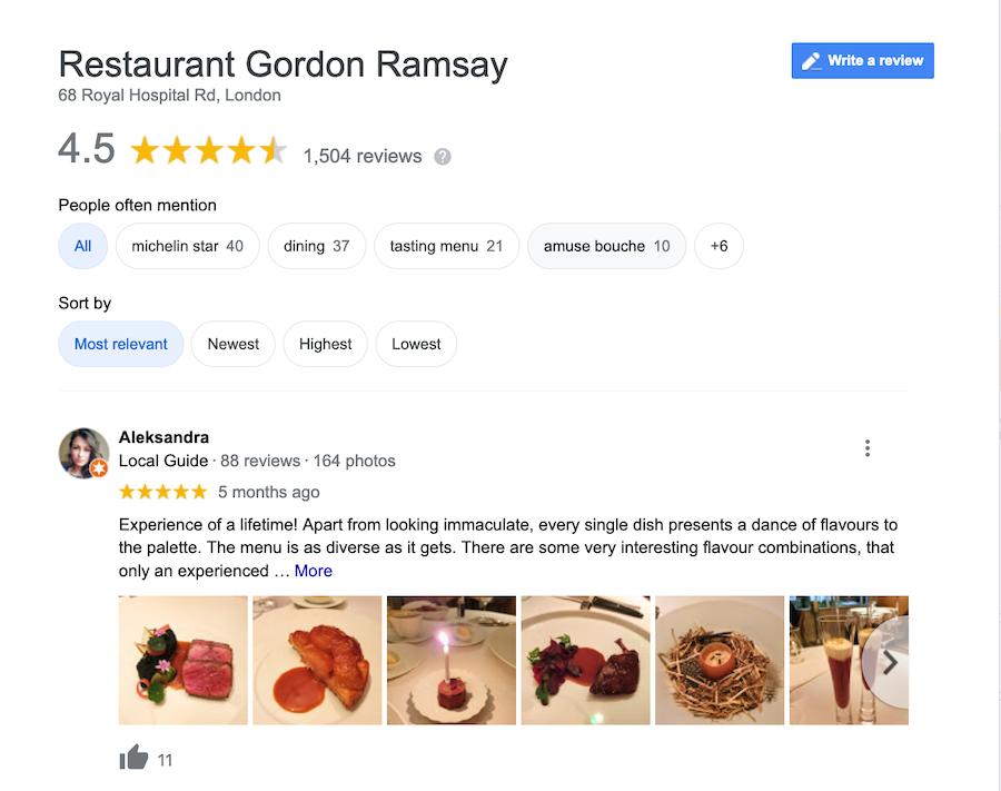 Gordon Ramsay Review