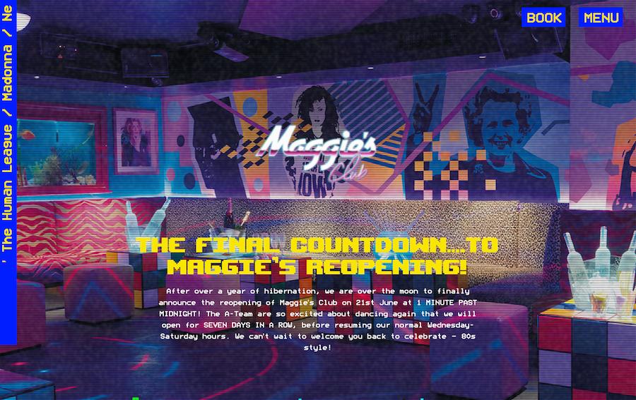 Nightclub website