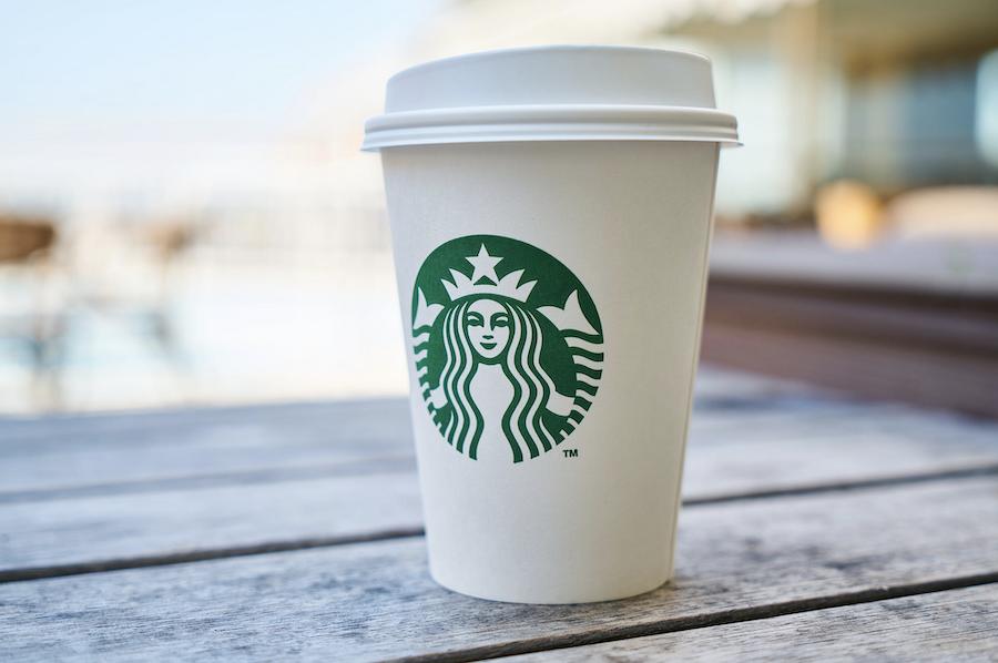 Starbucks venue branding