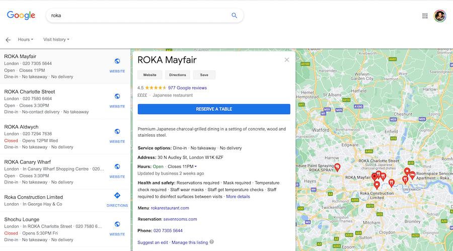 ROKA London