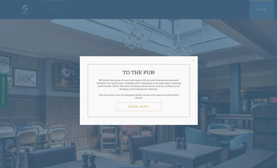 Venue site example