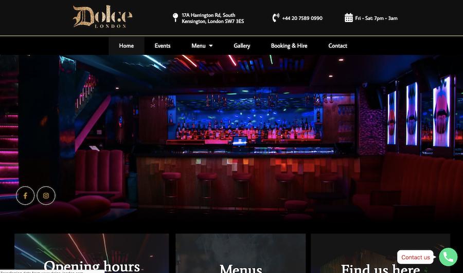 Website for parties