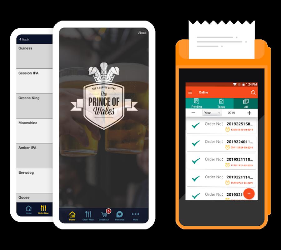 Bar technology app