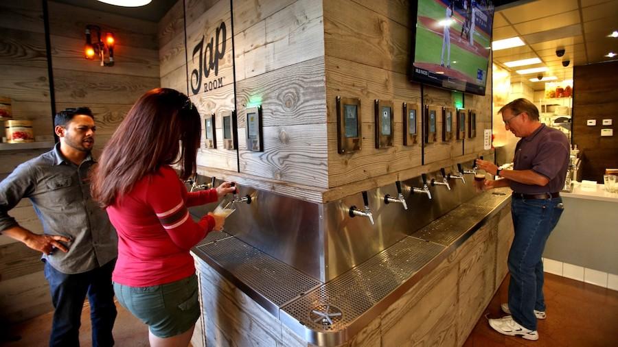 Bar technoogy beer taps